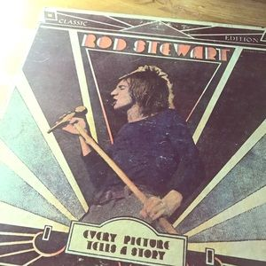 Vintage Rod Stewart album art